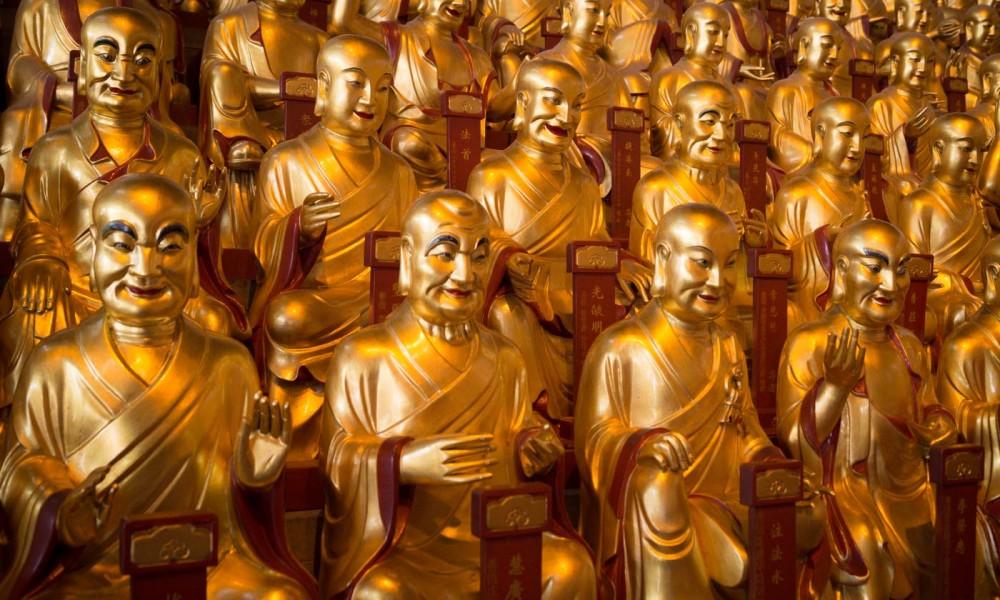 Ile jest boga w chińskich świątyniach?