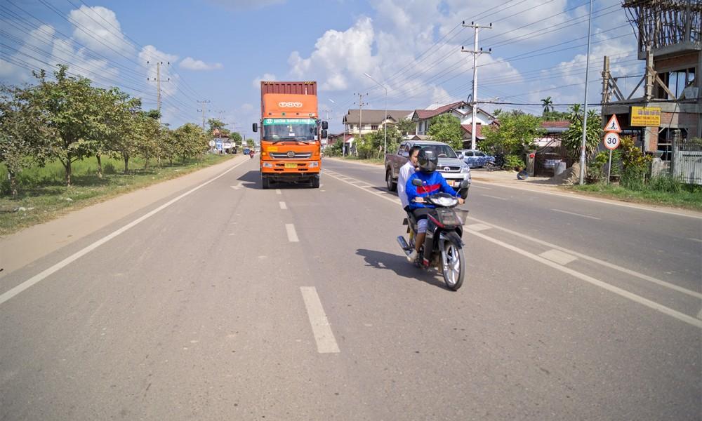 Do Laosu przez Tajlandię