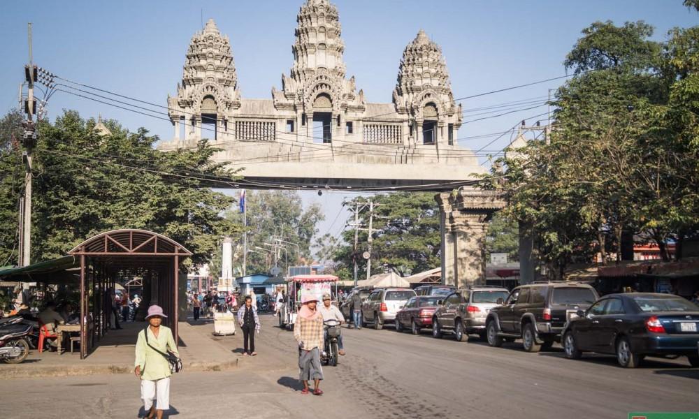 Taksówką przez Kambodżę