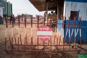 Przejście graniczne Prek Chak-Xa Xia, strona kambodżańska
