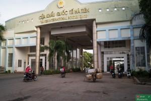Przejście graniczne Prek Chak-Xa Xia, strona wietnamska