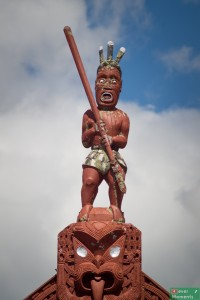 ...oraz sztuką maoryską :)