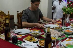 Domowa kolacja u Amira