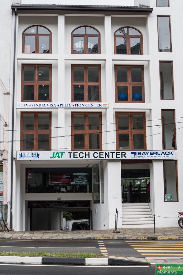 Budynek centrum wizowego w Kandy