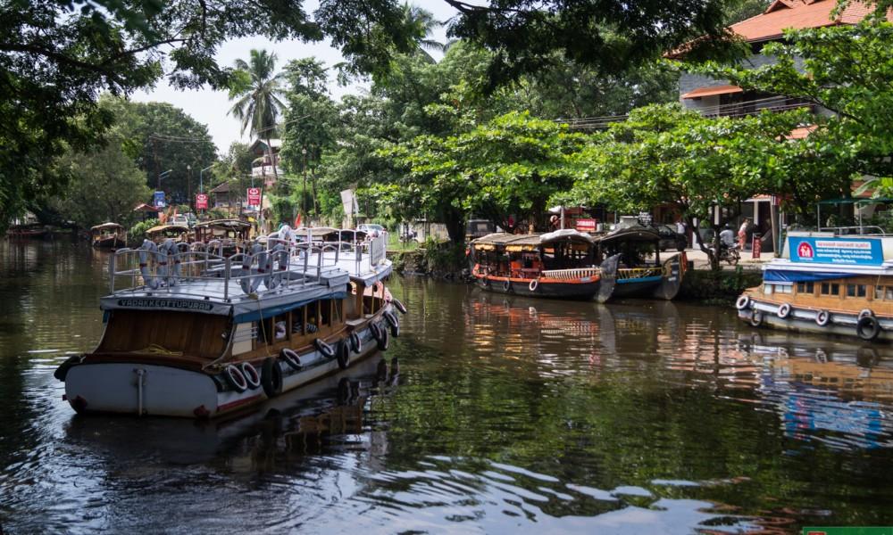 Backwaters, czyli rozlewiska Kerali w naszym obiektywie