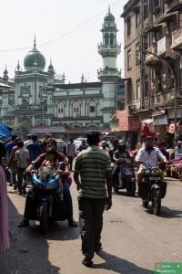 w drodze na Chor Bazaar