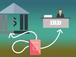IRD i konto bankowe – WHV formalności po przylocie