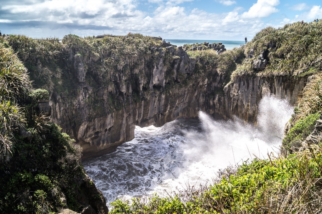 Punakaiki Blowholes, Paparoa National Park