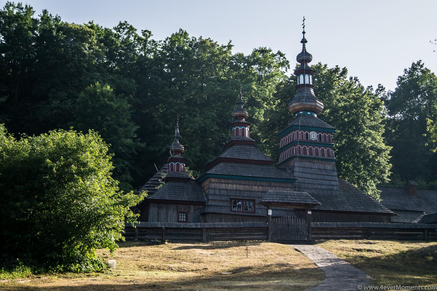 Bardejów Zdrój - skansen wsi słowackiej