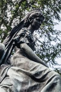 Bardejów Zdrój - pomnik cesarzowej Sissi