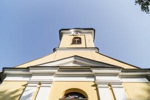 Bardejów Zdrój - kościół Św. Krzyża