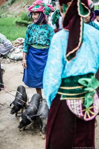 W Wietnamie żyją 54 grupy etniczne, każda nosi się w innym kolorze.