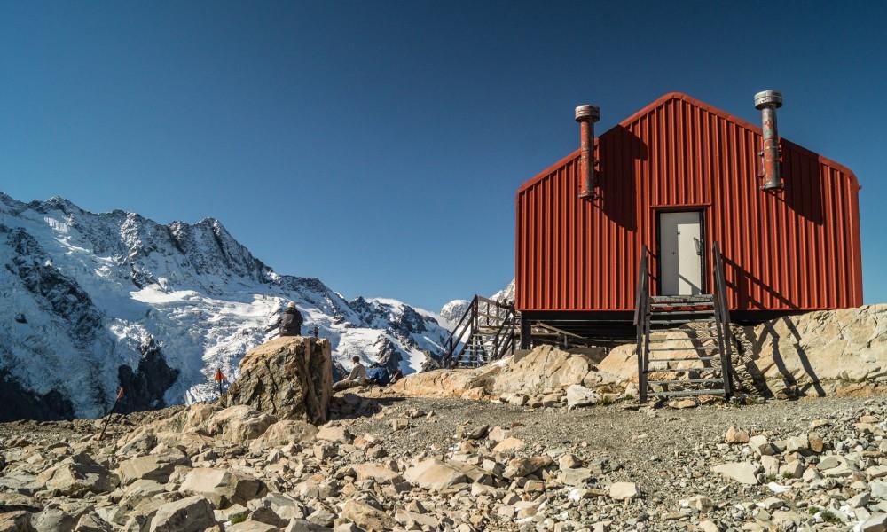 Mueller Hut, lekki i przyjemny treking w Alpach Płd